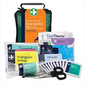 Reliance Medical Motokit British-Standard Stockholm Vehicle First Aid Kit M