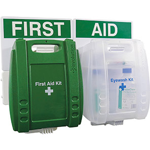 Evolution HSE 10-Person Eye Wash & First Aid Point