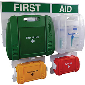 British-Standard Evolution First Aid Points