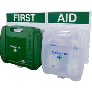 British-Standard Evolution Eyewash & First Aid Points