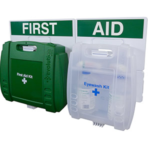 Evolution HSE 50-Person Eye Wash & First Aid Point