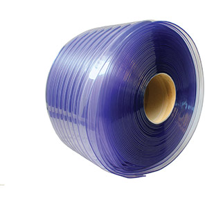 COBA Minimum-Overlap Buffer PVC Strip Curtains Kit