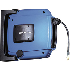 Nederman H30 Hose Reel with Compressed-Air/Water Hose