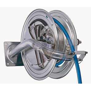 Nederman 886 EX Hose Reel with Air/Water Hose 12.5mm x 25m