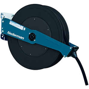 Nederman 888 Hose Reel with Compressed Air/Water Hose