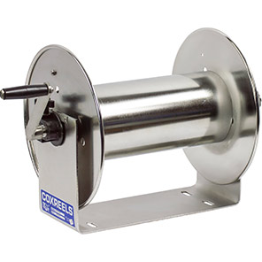 Coxreels 100 Series Stainless Steel Hose Reel for Air/Oil/Water Hose