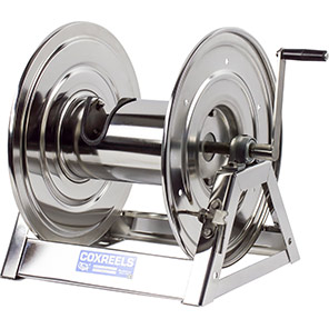 Coxreels 1125 Series Stainless Steel Hose Reel for Air/Oil/Water Hose