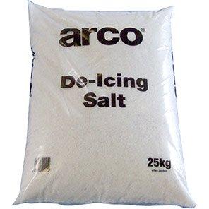 Arco 25kg White Rock Salt (Pallet of 40 Bags)