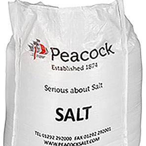 Peacock White Rock Salt 1000kg (One-Tonne Bag)