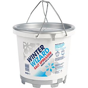 Winter Wizard De-Icing Salt Dispenser Tub 5kg