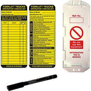 AssetTag MAX Forklift Safety Management Tag Kit
