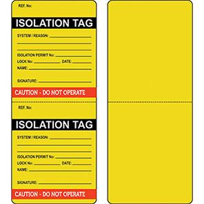 Isolation Tag Packs