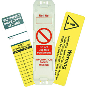 AssetTag Universal Inspection Tag Kit