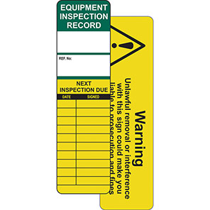 AssetTag Universal Inspection Insert Tag Pack
