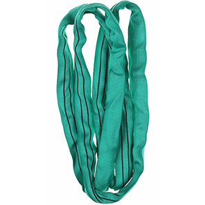 Green Polyester Round Sling