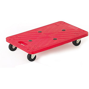 GPC Red Mini Platform Dolly