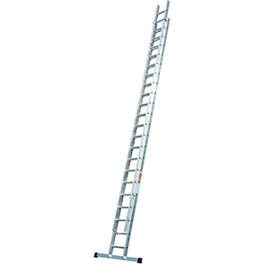 TB Davies Professional Double Extension Ladders with Stabiliser Bars