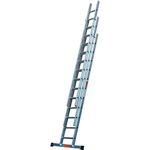 TB Davies Professional Triple Extension Ladder with Stabiliser Bar