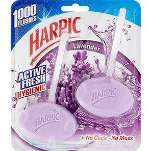Harpic Active Fresh Lavender Toilet Cleaner Rim-Blocks
