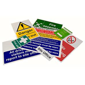 Spectrum Industrial 10-Piece Site Sign Pack