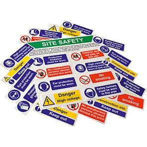 Spectrum Industrial Rigid PVC Sign Kit