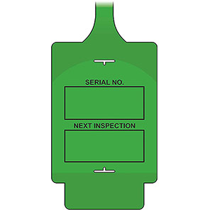 """AssetTag Flex """"Next Inspection"""" Tags"""