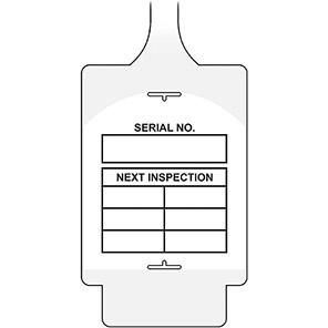 "AssetTag Flex ""Next Inspection"" Grid Tags"