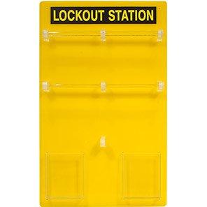 Premier 20-Padlock Lockout Station Board