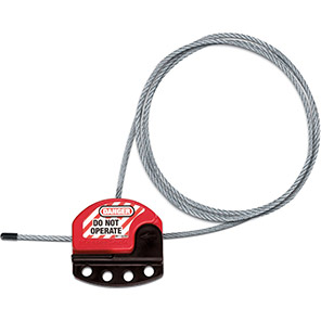 Master Lock Adjustable Lockout Cable