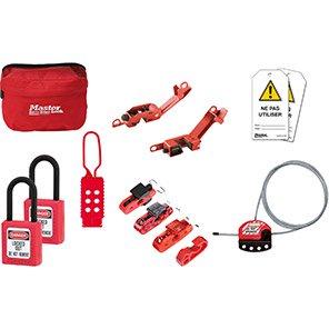 Master Lock Electrical Lockout-Tagout Kit