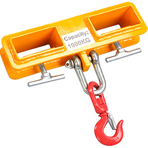 IGE Double-Sleeve Forklift Attachment Hook