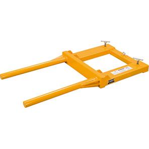 IGE Drum-Positioner Forklift Attachment