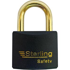 Sterling 40mm Colour-Coded Brass Padlocks
