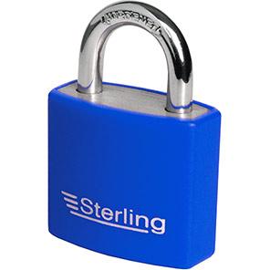 Sterling Coloured Aluminium Padlock