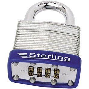 Sterling Laminated Steel Combination Padlock