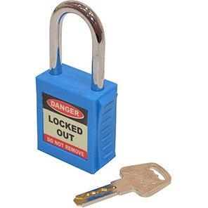 Blue Safety Lockout Padlock