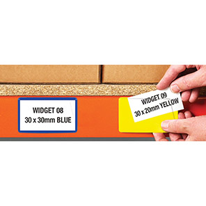 Beaverswood Yellow Self-Adhesive Ticket Pouches (Pack of 100)