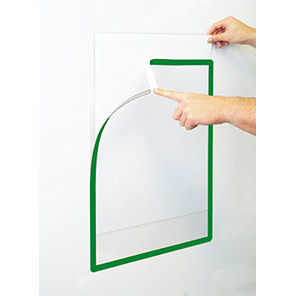Beaverswood Frames4Docs Green A2 Self-Adhesive Document Wallets (Pack of 10)