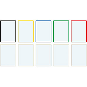 Beaverswood Frames4Docs Assorted A2 Self-Adhesive Document Wallets (Pack of 10)