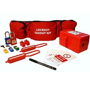 Electrical Lockout-Tagout Belt Pouch Kit