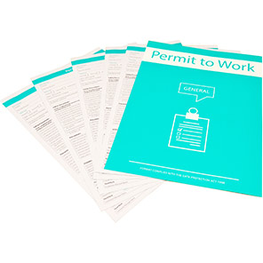 Centurion General Permit to Work (Pack of 10)