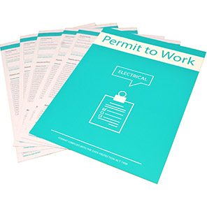 Centurion Electrical Permit to Work (Pack of 10)