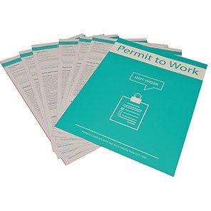 Centurion Hot Work Permit to Work (Pack of 10)