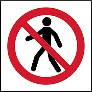 No Admittance (Symbol Only) Legislation Signs