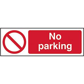 No Parking Legislation Signs