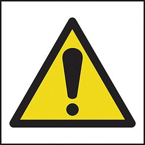 Spectrum Industrial Caution Symbol Warning Sign