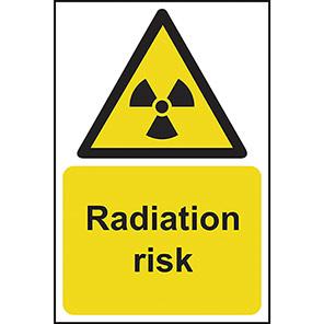 Radiation Risk Warning Signs