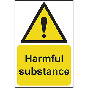 Harmful Substance Warning Signs