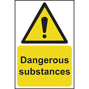 Dangerous Substances Warning Signs