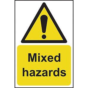 Mixed Hazards Warning Signs